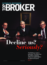 Canadian Insurance Top Broker – 1 janvier 2015