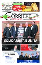 Corriere Italiano – 12 juillet 2018
