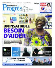 Progrès Saint-Léonard – 10 juillet 2018