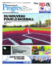 Progrès Saint-Léonard – 24 juillet 2018