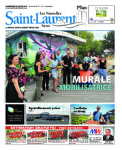 Nouvelles St-Laurent News – 18 juillet 2018