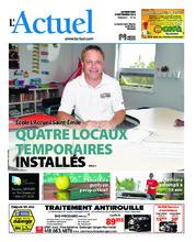 Journal L'Actuel – 5 septembre 2018