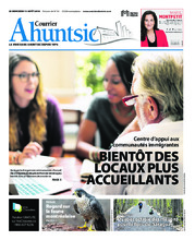 Le Courrier Ahuntsic – 15 août 2018