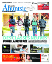 Le Courrier Ahuntsic – 5 septembre 2018