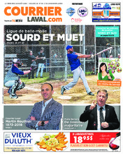 Courrier Laval (mercredi) – 22 août 2018