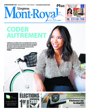 L'Express d'Outremont/V. Mont-Royal – 30 août 2018
