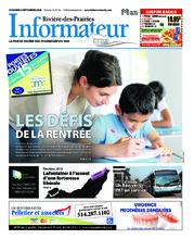 L'Informateur RDP – 4 septembre 2018