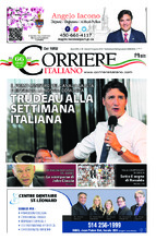 Corriere Italiano – 16 août 2018