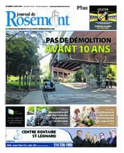 Journal de Rosemont/Petite Patrie – 7 août 2018