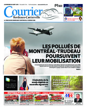 Courrier Bordeaux-Cartierville – 28 août 2018