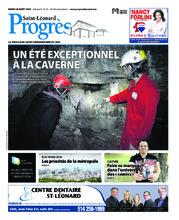 Progrès Saint-Léonard – 28 août 2018