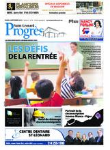 Progrès Saint-Léonard – 4 septembre 2018