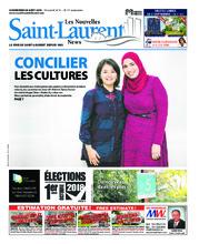 Nouvelles St-Laurent News – 29 août 2018