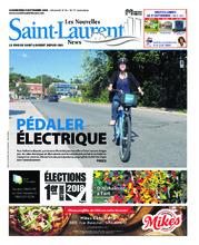 Nouvelles St-Laurent News – 5 septembre 2018