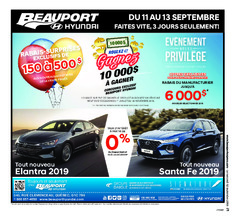 Beauport Express – 12 septembre 2018