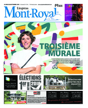 L'Express d'Outremont/V. Mont-Royal – 20 septembre 2018