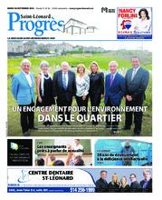 Progrès Saint-Léonard – 18 septembre 2018
