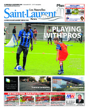 Nouvelles St-Laurent News – 12 septembre 2018