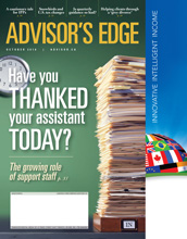 Advisor's Edge – 1 octobre 2018