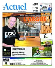 Journal L'Actuel – 10 octobre 2018