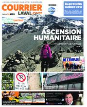 Courrier Laval (mercredi) – 3 octobre 2018