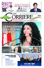 Corriere Italiano – 11 octobre 2018