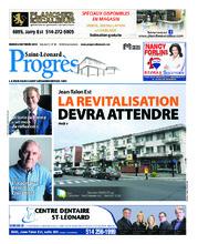 Progrès Saint-Léonard – 2 octobre 2018
