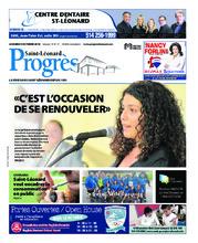 Progrès Saint-Léonard – 9 octobre 2018