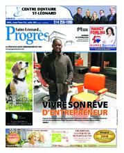 Progrès Saint-Léonard – 23 octobre 2018