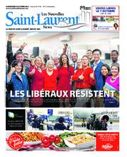 Nouvelles St-Laurent News – 3 octobre 2018