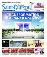 Nouvelles St-Laurent News – 31 octobre 2018