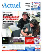 Journal L'Actuel – 7 novembre 2018
