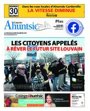 Le Courrier Ahuntsic – 7 novembre 2018