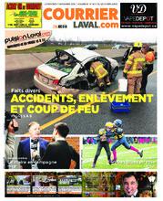 Courrier Laval (mercredi) – 7 novembre 2018