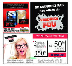 Courrier Laval (mercredi) – 21 novembre 2018