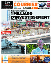 Courrier Laval (mercredi) – 28 novembre 2018