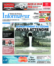 L'Informateur RDP – 6 novembre 2018