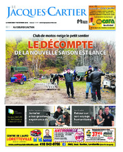Journal le Jacques-Cartier – 7 novembre 2018