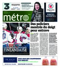 Journal Métro – 6 novembre 2018