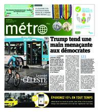 Journal Métro – 8 novembre 2018