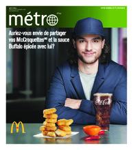 Journal Métro – 9 novembre 2018