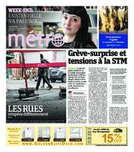 Journal Métro – 16 novembre 2018