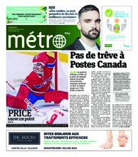 Journal Métro – 20 novembre 2018
