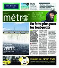 Journal Métro – 21 novembre 2018