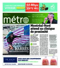 Journal Métro – 26 novembre 2018