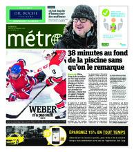 Journal Métro – 28 novembre 2018