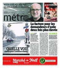 Journal Métro – 30 novembre 2018