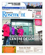 Journal de Rosemont/Petite Patrie – 20 novembre 2018