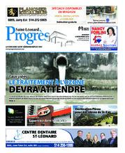 Progrès Saint-Léonard – 6 novembre 2018
