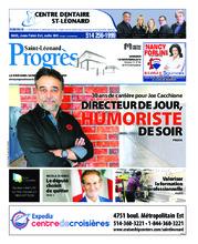 Progrès Saint-Léonard – 13 novembre 2018